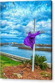 Lentin Cross Acrylic Print