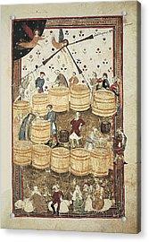 Lenzi, Domenico 14th Century. Specchio Acrylic Print by Everett
