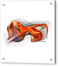 Leo Acrylic Print by Christian Simonian