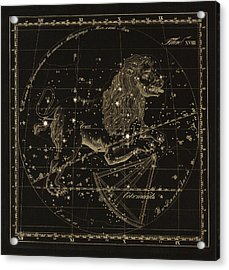 Leo Constellations, 1829 Acrylic Print by Science Photo Library
