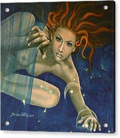 Leo From Zodiac Series Acrylic Print