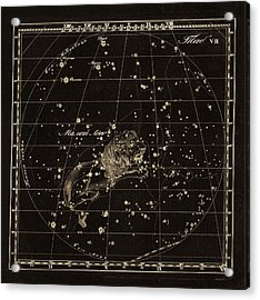 Leo Minor Constellation, 1829 Acrylic Print by Science Photo Library