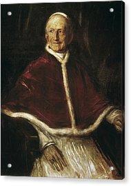 Leo Xiii 1810-1903. Pope 1878-1903. Oil Acrylic Print