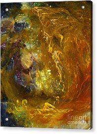 Leo121 Acrylic Print by Kathleen Fowler