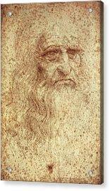 Leonardo Da Vinci 1452-1519 Acrylic Print by Everett