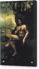Leonardo Da Vinci, School Of First Half Acrylic Print by Everett