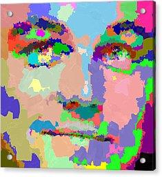 Leonardo Dicaprio - Abstract 01 Acrylic Print