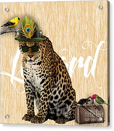 Leopard Collection Acrylic Print