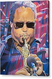 Leroi Moore And 2007 Lights Acrylic Print by Joshua Morton