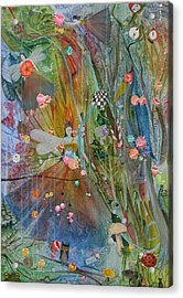 Acrylic Print featuring the painting Les Carioles by Jackie Mueller-Jones
