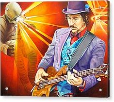 Les Claypool's-sonic Boom Acrylic Print by Joshua Morton
