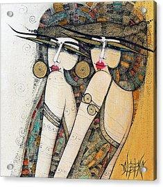 Les Demoiselles Acrylic Print