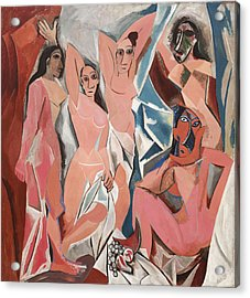 Les Demoiselles D Avignon Acrylic Print
