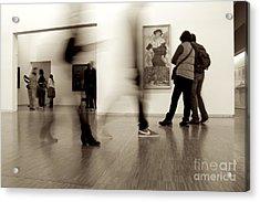 Les Fantasmes De Pompidou Acrylic Print