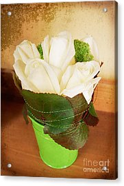 Acrylic Print featuring the photograph Les Fleurs by Maria Janicki