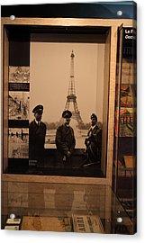 Les Invalides - Paris France - 011334 Acrylic Print