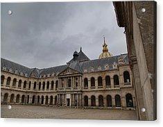 Les Invalides - Paris France - 01139 Acrylic Print