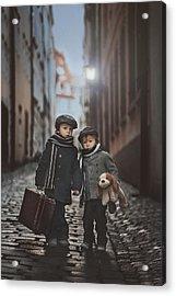 Les Misa?rables Acrylic Print by Tatyana Tomsickova