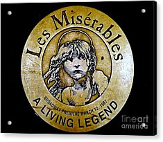 Les Miserables Acrylic Print by Ed Weidman