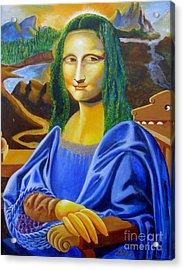 Les Mysteres Jocondais Au Code De Vinci   L E P I H Acrylic Print