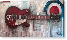 Les Paul Number 5 Acrylic Print