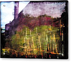 Acrylic Print featuring the photograph Less Travelled 26 by The Art of Marsha Charlebois