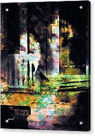 Acrylic Print featuring the photograph Less Travelled 27 by The Art of Marsha Charlebois