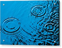 Let It Rain Acrylic Print by Debi Bishop