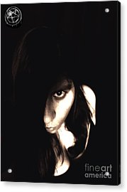 Acrylic Print featuring the photograph Let The Darkness Take Me by Vicki Spindler