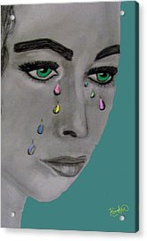 Let There Be Tears Acrylic Print
