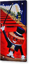 Let Your Inner Ham Shine Or My Hammy And The Picklettes Acrylic Print by Janet McDonald