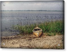 Acrylic Print featuring the photograph L'etang by Hanny Heim