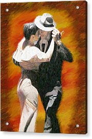 Let's Dance Acrylic Print by James Shepherd