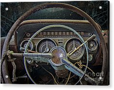 Let's Drive Acrylic Print
