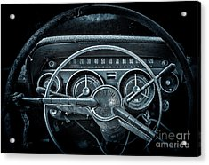 Let's Drive   Moon Glow Acrylic Print