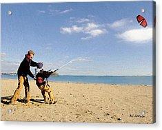 Let's Go Fly A Kite Acrylic Print