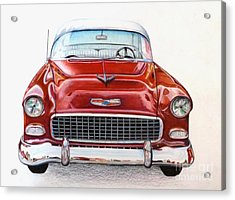 Let's Go For A Ride Acrylic Print