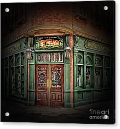 Lets Have A Drink Acrylic Print by Arnie Goldstein