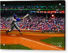 Let's Play Two Acrylic Print by Alan Greene