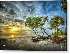 Let's Stay Here Forever Acrylic Print by Marvin Spates