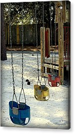 Let's Swing Acrylic Print