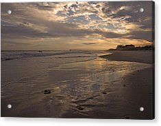 Let's Walk This Evening Acrylic Print by Betsy Knapp