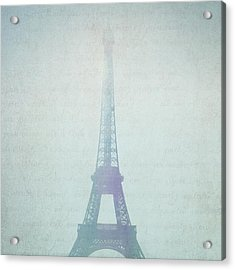 Letters From Paris Acrylic Print