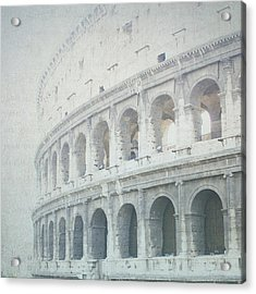 Letters From The Colosseum Acrylic Print