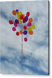 Letting Go Acrylic Print by Emmy Marie Vickers