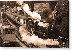 Letting Off Steam Acrylic Print by John Topman