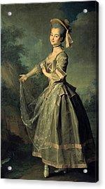 Levitskidmitri Grigorievich 1735-1822 Acrylic Print by Everett