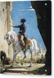Levy, Henri L�opold 1840-1904. Napoleon Acrylic Print by Everett