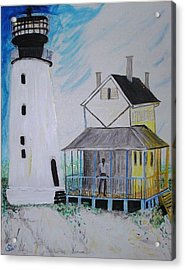 Lewes 1926 Lighthouse Acrylic Print