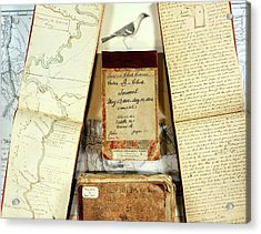 Lewis And Clark Expedition Journals Acrylic Print by American Philosophical Society